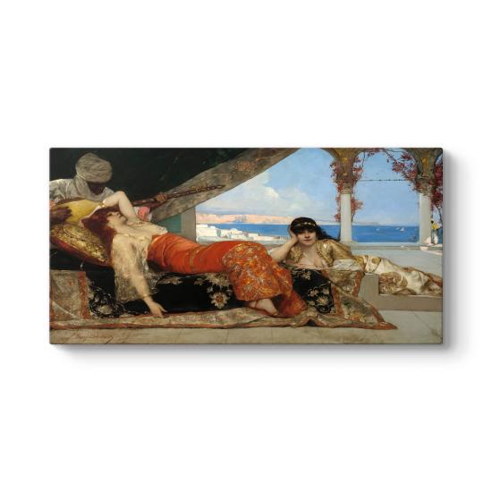 Joseph Benjamin Constant - The Favorite of the Emir