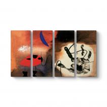 Joan Miro - Color and Line Tablosu