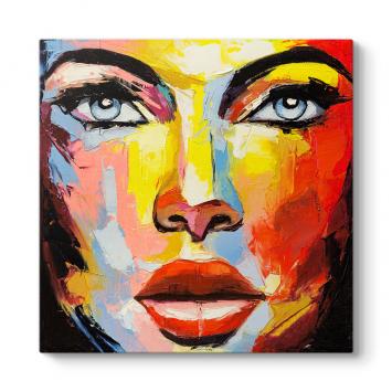 Günışığı Kadın Yüzü Tablosu