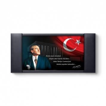Atatürk Portresi Makam Panosu