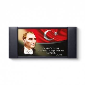 Atatürk Kurumsal Makam Arkası Panosu