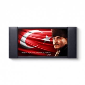 Atatürk Vecize Sözlü Makam Panosu