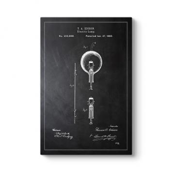 Edison Ampul Patenti Tablosu