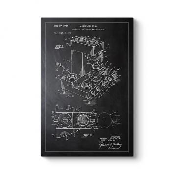 Kahve Makinesi Patenti Tablosu
