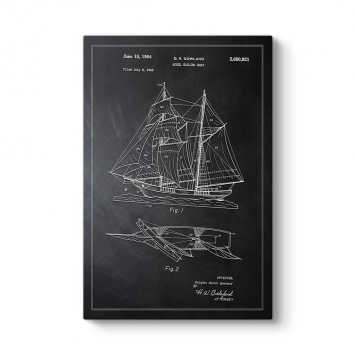 Model Yelkenli Gemisi Patent Tablosu