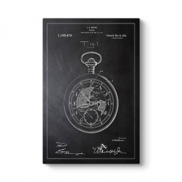 Köstekli Saat Patenti Tablosu