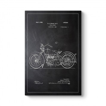 Harley Motosiklet Patenti Tablosu