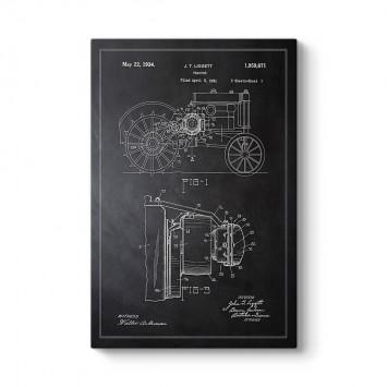 John Deere Traktör Patenti Tablosu