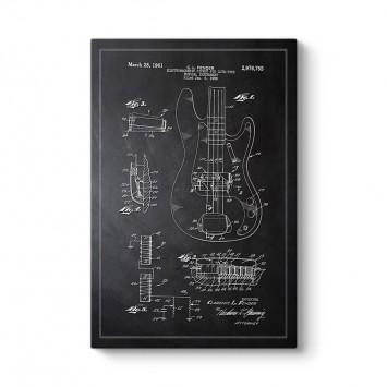 Fender Gitar Patenti Tablosu