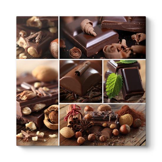 Çikolata Kolaj Tablo