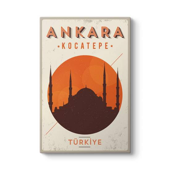 Ankara Kocatepe Cami Tablosu