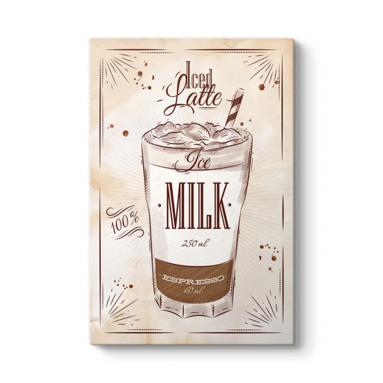 Buzlu Latte Tarifi Tablosu