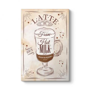 Caffe Latte Tarifi Tablosu