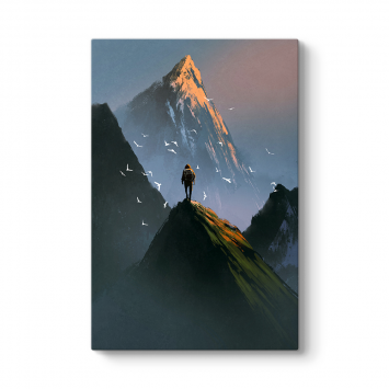 Dağın Zirvesi Tablosu
