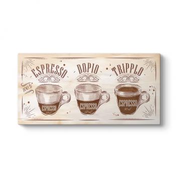 Espresso Ölçüleri Tablosu