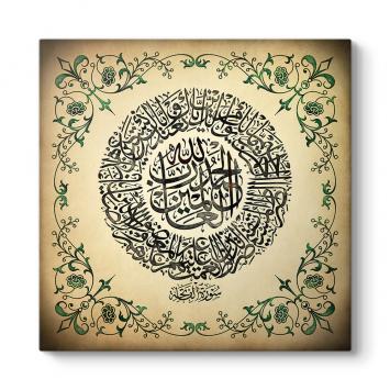Fatiha Suresi Yazılı Tablo