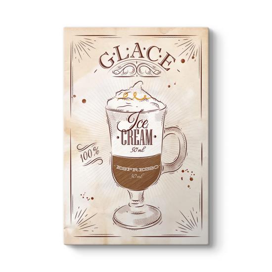 Glace Kahve Tarifi Tablosu