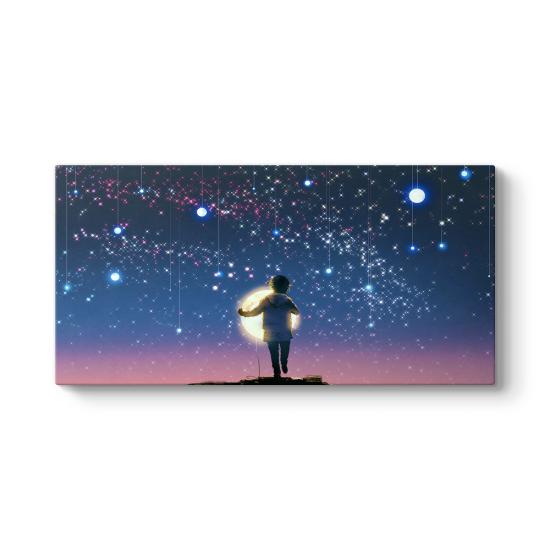 Gökyüzünde Yıldızlar Parladıkça Tablosu
