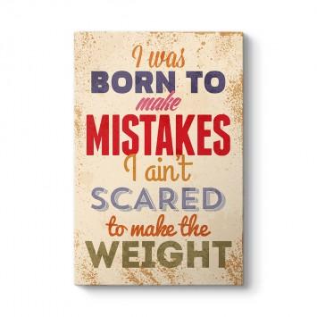 Hata Yapmak İçin Doğdum Tablosu
