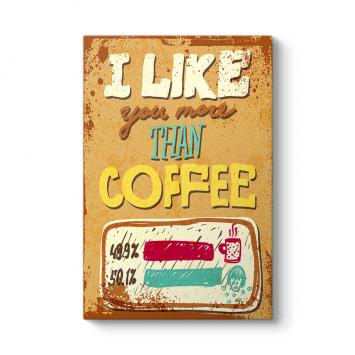 Kahveyi Seviyorum Tablosu