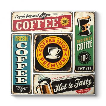 Kolaj Coffee Tablosu