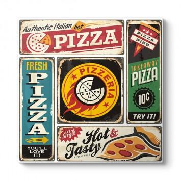 Kolaj Pizza Tablosu