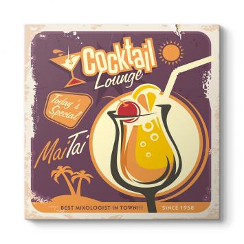 Mai Tai Cocktail Lounge Tablosu