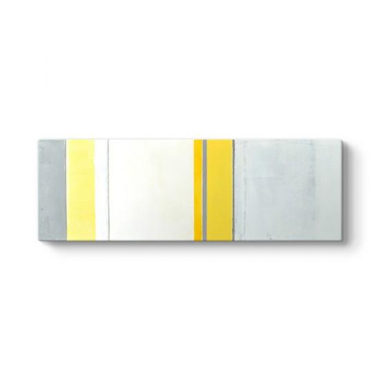 Panorama Sarı Çizgiler Tablosu