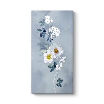 Papatya ve Kiraz Çiçeği Tablosu