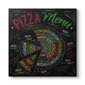 Pizza Menü Tablosu