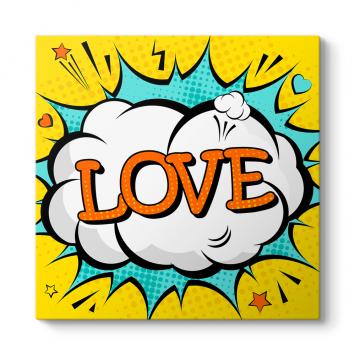 Popart Love Tablosu