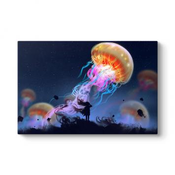 Renkli Deniz Anası Tablosu