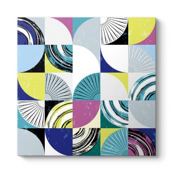 Renkli Mozaik Tablo