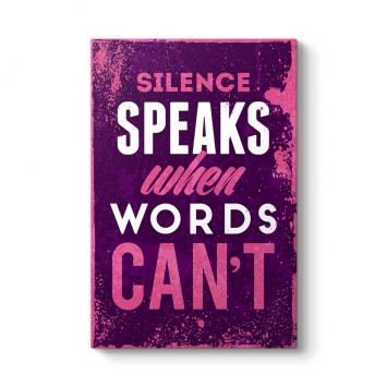 Sessizlik Sözcüklerin Söyleyemediğini Konuşur Tablosu