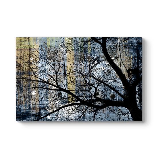 Soyut Ağaç Dalları Tablosu