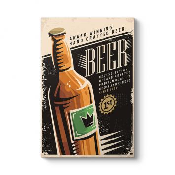 Vintage Bira Tablosu