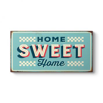 Vintage Home Sweet Home Tablosu