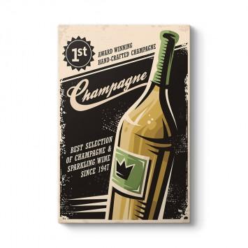 Vintage Şampanya Tablosu