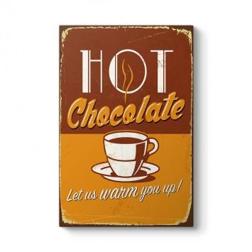 Vintage Sıcak Çikolata Tablosu