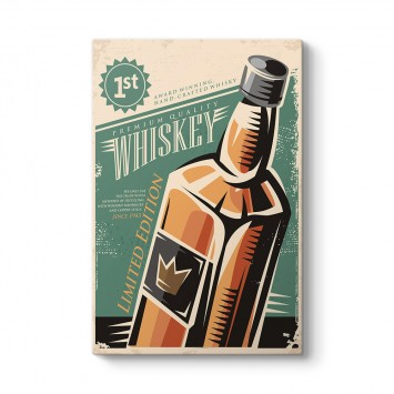 Vintage Viski Tablosu