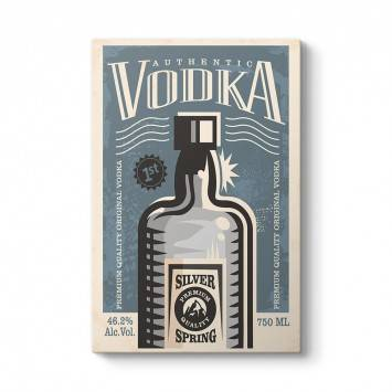 Vintage Vodka Tablosu