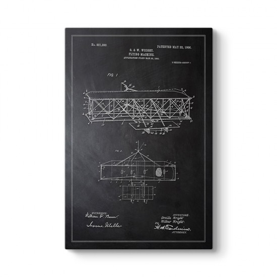 Wright Kardeşler Uçak Patenti Tablosu