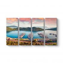 Antalya Kaş Panorama Tablo