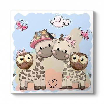 Bebek Zürafalar ve Baykuşlar