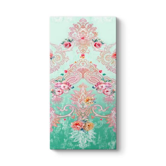 Çiçek Desenli Tablo