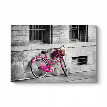 Eski Pembe Bisiklet