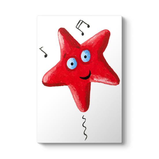 Kırmızı Deniz Yıldızı Tablo