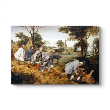 Pieter Brueghel - Körlerin Yürüyüşü