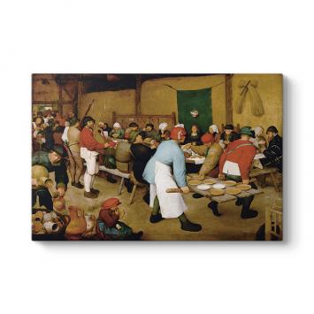Pieter Brueghel - Köy Düğünü