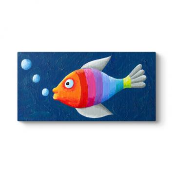 Rengarenk Balık Tablosu